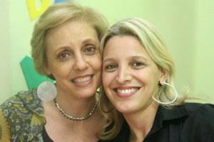 Lilian e sua mãe